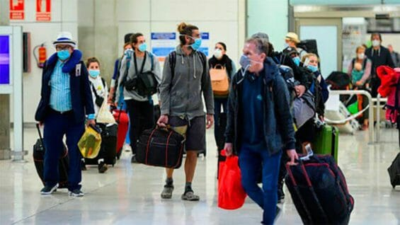 Foreign visitors spent more this year.