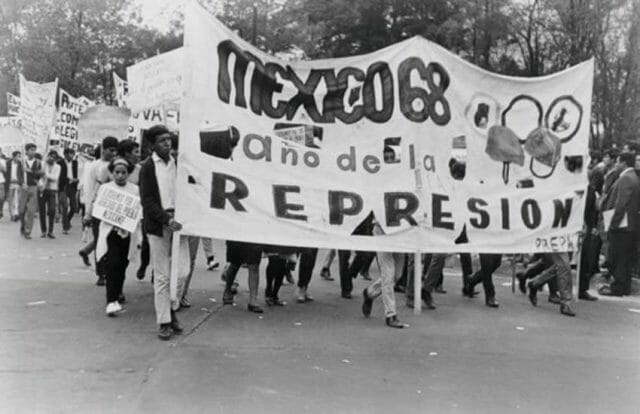 1968 student protests Mexico City