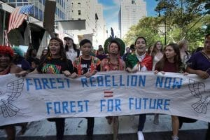 Guardians of the Forest march in New York City 2019