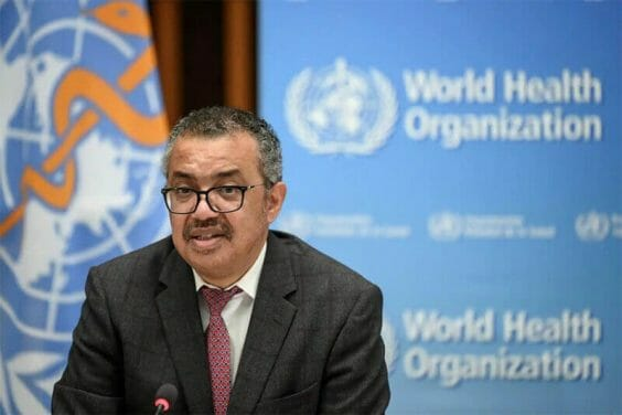 WHO Director-General Tedros Adhanom Ghebreyesus invited AMLO to learn more about the organization's vaccine approval process earlier this week.
