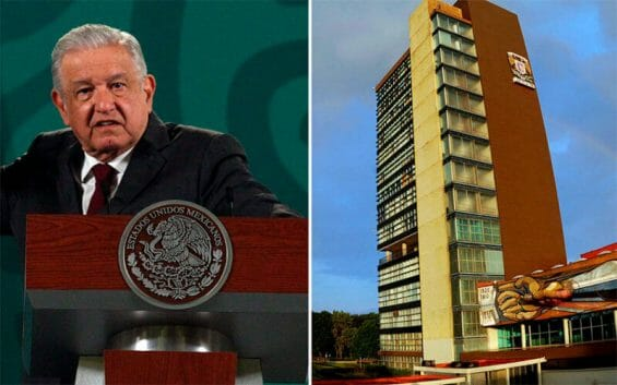 """At his regular press conference on Thursday, the president accused UNAM of individualism and """"promoting neoliberal projects."""""""