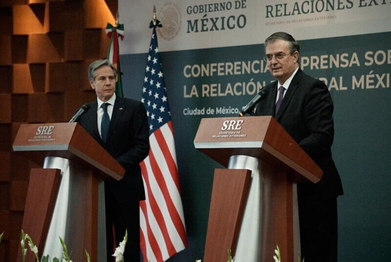 U.S. Secretary of State Anthony Blinken and Foreign Minister Marcelo Ebrard participated in Friday's bilateral talks.
