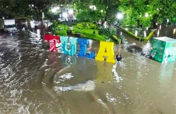 The flooding caused billions of pesos in damages