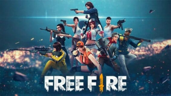 Free Fire, described as the ultimate, survival shooter game.
