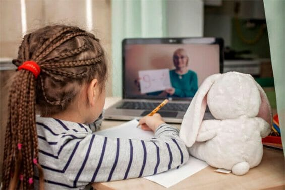 The government's Learn From Home classes, broadcast via internet and television, were difficult to access for families lacking a television, internet access or electricity.