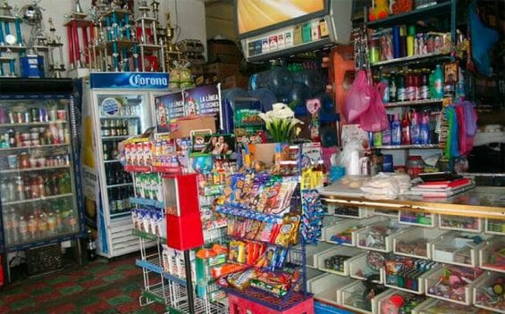 Small stores such as this have seen their extortion charges rise.