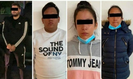 The suspects in Friday's shooting.