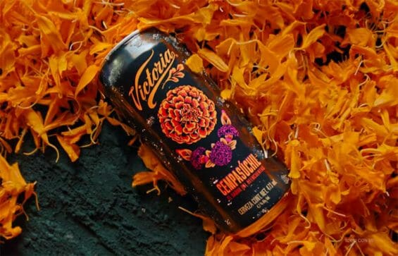 The new marigold beer for Day of the Dead.